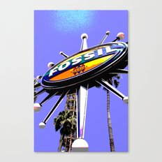 Fossil #1 Canvas Print