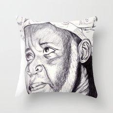 sheikh ibrahim nyass Throw Pillow