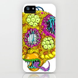 Monster Donut iPhone Case