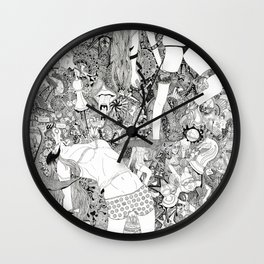 Day Dream Wall Clock