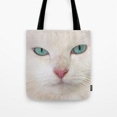 WHITE DELIGHT Tote Bag