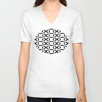 xoxo V-neck T-shirts featuring XOXO by Julie Maxwell