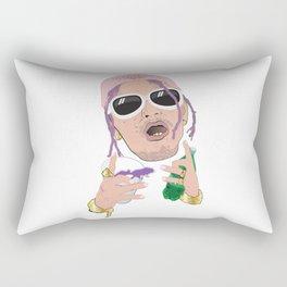 Lean Rapper Rectangular Pillow
