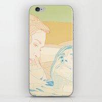 eternal sunshine of the spotless mind iPhone & iPod Skins featuring Eternal Sunshine of the Spotless Mind by Itxaso Beistegui Illustrations