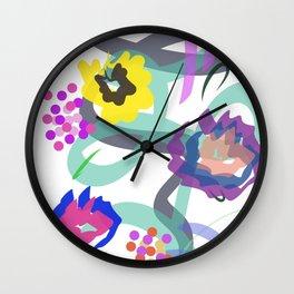 Abstract Garden Nr. 4 Wall Clock