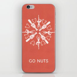 Go Nuts iPhone Skin