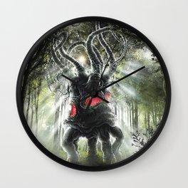 Dark Young Wall Clock
