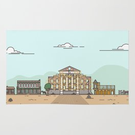 Back to the future - Hill Valley 1885 Rug