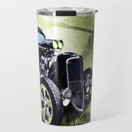 1934 Ford Three Window Coupe Hot Rod Travel Mug