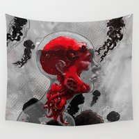politics Wall Tapestries featuring Control by angrymonk