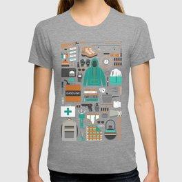 Zombie Survival Kit T-shirt