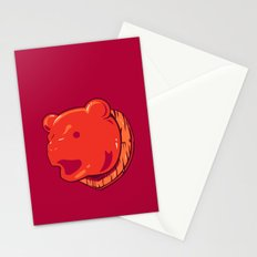 Bear prize Stationery Cards