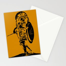 Greek Hoplite - Ancient Warfare Stationery Cards