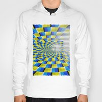 holographic Hoodies featuring Radial Structure by Anya Campbell by BohemianBound