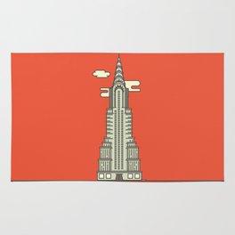 Chrysler Building Rug
