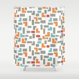 Bricks - light Shower Curtain