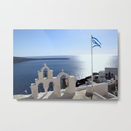 Greece Metal Print