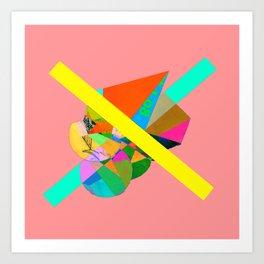 "COLLAGE: ""PINK"" Art Print"