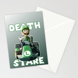 Death Stare Stationery Cards