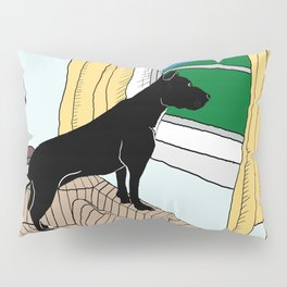 Pitbull Lookout Pillow Sham