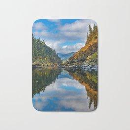 Rogue River Reflections Bath Mat