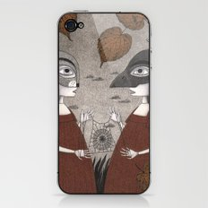 Ana and Eva (An All Hallows' Eve Tale) iPhone & iPod Skin