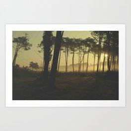 Sun Rise // Hossegor_France Art Print
