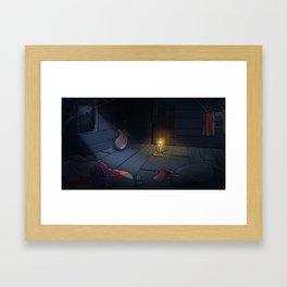 The Midnight Man Framed Art Print