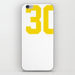 Curry Steph Curry 30 iPhone Skin