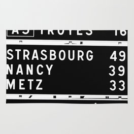 490 km to Strasbourg - The Polaroid Project Rug