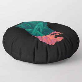 Final Frontiersman Floor Pillow