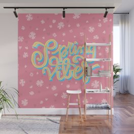 Spring Vibes Wall Mural
