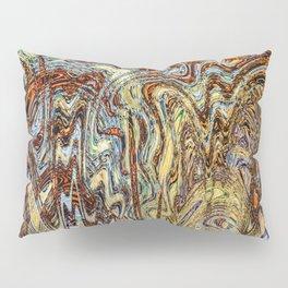 Scramble - Digital Abstract Expressionism Pillow Sham