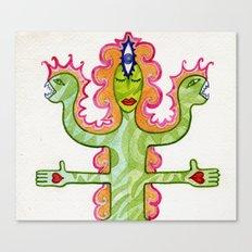 CREATURTOTEM Canvas Print