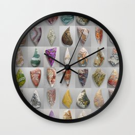 Agate Montage Wall Clock