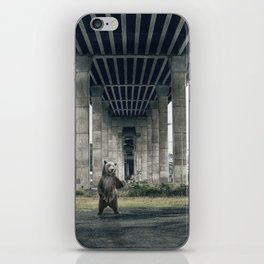 Bear sighting iPhone Skin