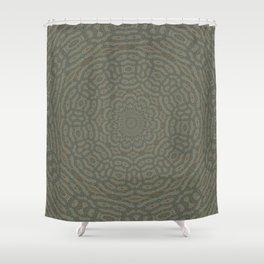 Wind Wave Grunge Abstract Kaeleidoscope Shower Curtain