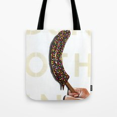 DO NOTHING Frozen Banana with sprinkles   Tote Bag