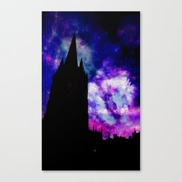 Space Tower Canvas Print