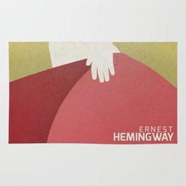 The sun also rises, Fiesta, Ernest Hemingway, classic book cover Rug