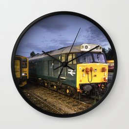 Exeter Vacuum Wall Clock