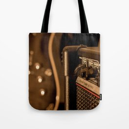 Amps & Guitar Tote Bag