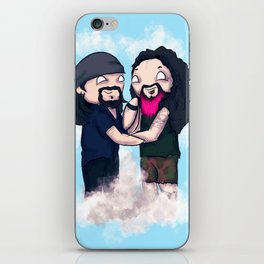 Vinnie and Darrell iPhone Skin