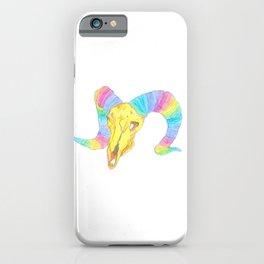 Rainbow Ibex iPhone Case