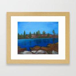 The Barrens, Muskoka Road 13 Framed Art Print