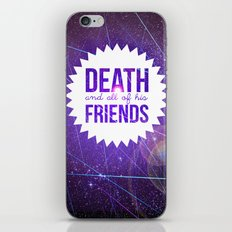 Mortem et Omnibus Amicis iPhone & iPod Skin