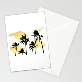 Palm Trees in Moorea Stationery Cards