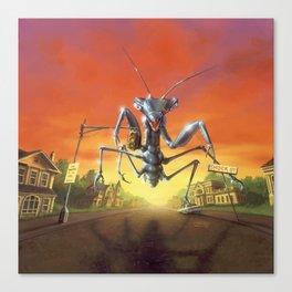 A Shocker on Shock Street Canvas Print