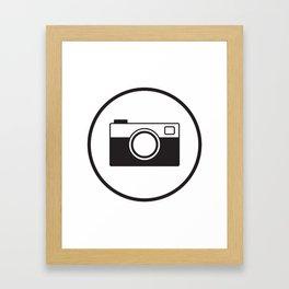 Tote Camera Framed Art Print