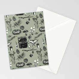 Forest Notes Stationery Cards